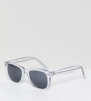 Квадратные солнцезащитные очки Inspired эксклюзивно для ASOS-Золотой Reclaimed Vintage