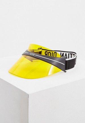 Козырек Christian Dior DIORCLUB1 OTL. Цвет: желтый