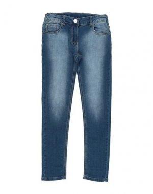 Джинсовые брюки iDO by MINICONF. Цвет: синий
