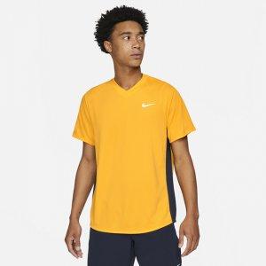 Мужская теннисная футболка Court Dri-FIT Victory - Коричневый Nike