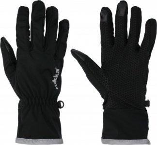 Перчатки Uotsola, размер 10-10,5 Rukka. Цвет: черный