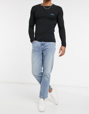 Голубые прямые джинсы -Голубой River Island