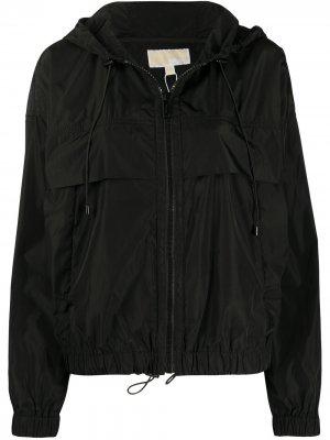 Куртка с капюшоном Michael Kors. Цвет: черный