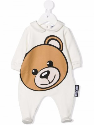 Пижама Toy Bear Moschino Kids. Цвет: белый