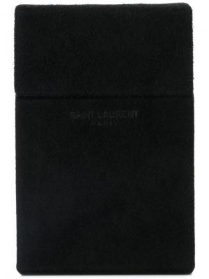 Портсигар Saint Laurent. Цвет: черный