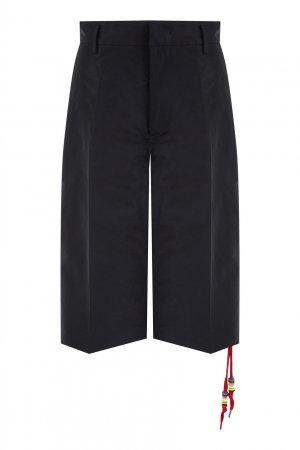 Черные шорты со стрелками No.21. Цвет: черный