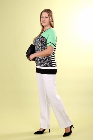 Пуловер Basler. Цвет: разноцветный