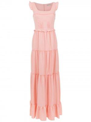 Long dress Martha Medeiros. Цвет: розовый