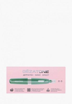 Мезороллер для лица Gezatone. Цвет: голубой