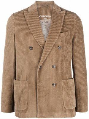 Вельветовый пиджак Circolo 1901. Цвет: нейтральные цвета