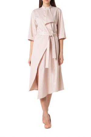 Платье Adzhedo. Цвет: кремовый