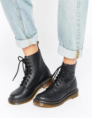 Ботинки с 8 парами люверсов 1460 Pascal-Черный цвет Dr Martens