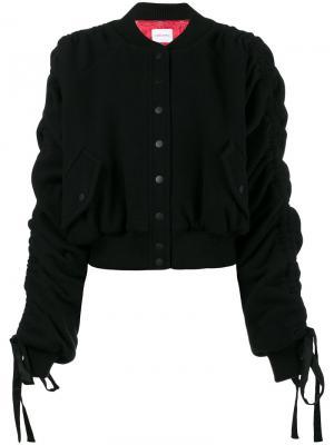Куртка-бомбер Clarice Magda Butrym. Цвет: черный