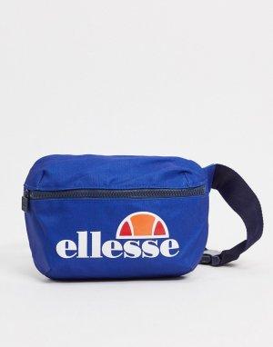 Синяя сумка-кошелек на пояс с большим логотипом -Синий ellesse