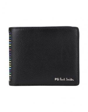 Бумажник PS PAUL SMITH. Цвет: черный