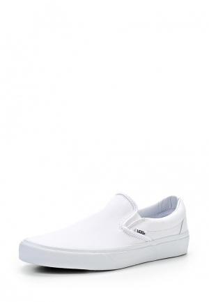 Слипоны Vans CLASSIC SLIP-ON. Цвет: белый