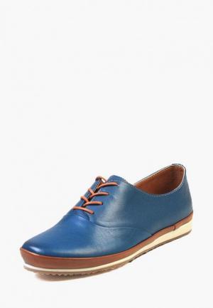Ботинки Airbox. Цвет: синий