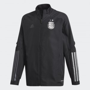 Парадная куртка сборной Аргентины Performance adidas. Цвет: черный