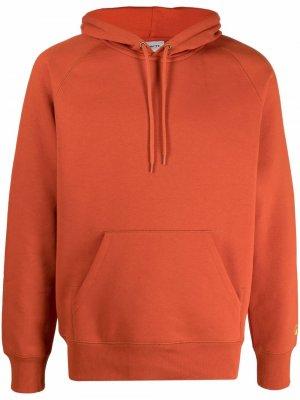 Худи с логотипом Carhartt WIP. Цвет: оранжевый