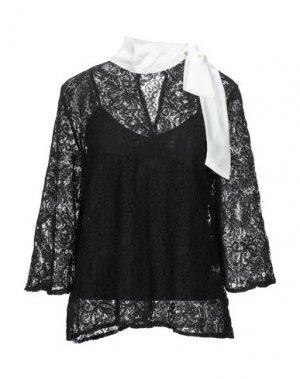 Блузка BRIGITTE BARDOT. Цвет: черный