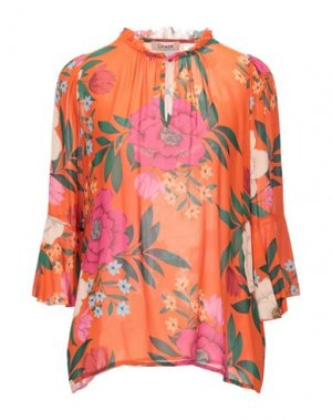 Блузка DIXIE. Цвет: оранжевый