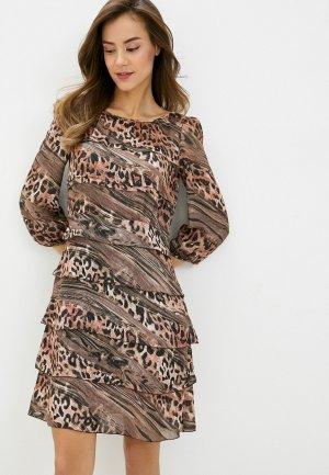 Платье Climona. Цвет: разноцветный