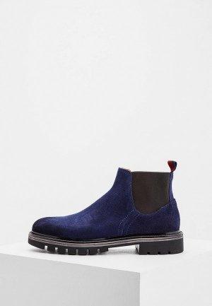 Ботинки Barracuda. Цвет: синий