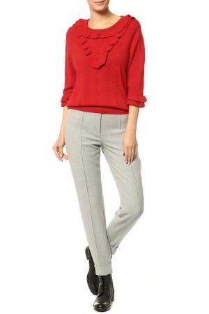 Пуловер Essentiel. Цвет: красный