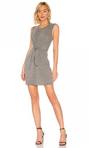 Платье elan LA Made. Цвет: серый
