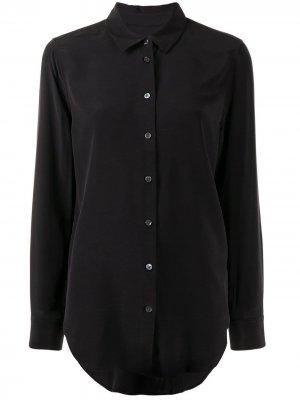 Классическая рубашка Equipment. Цвет: черный