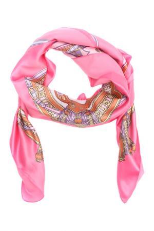 Платок F.FRANTELLI. Цвет: розовый, фиолетовый