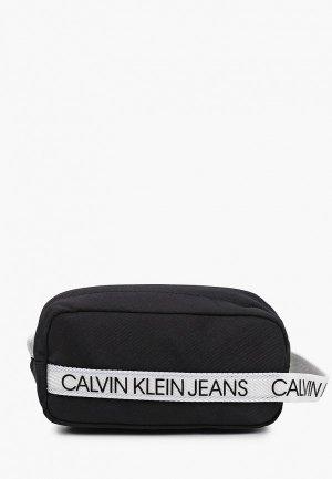 Пенал Calvin Klein Jeans. Цвет: черный