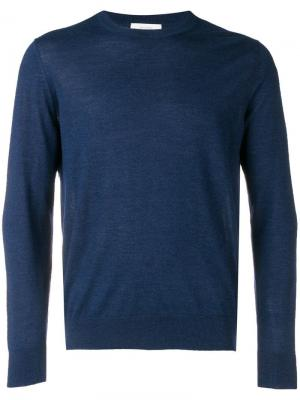 Трикотажный свитер Plutone Ballantyne. Цвет: синий