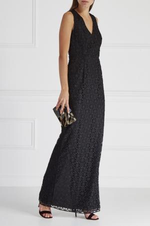 Кружевное платье HOSS INTROPIA. Цвет: черный
