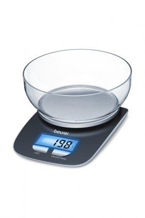 Весы кухонные KS25 BEURER. Цвет: черный