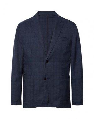 Пиджак CLUB MONACO. Цвет: темно-синий