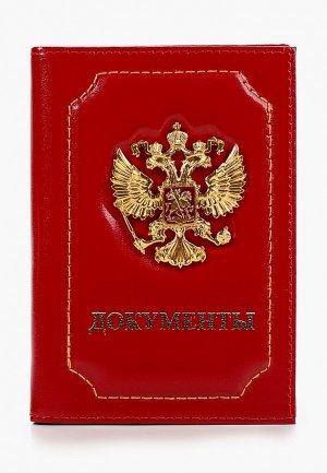 Обложка для документов Forte St.Petersburg. Цвет: красный
