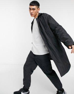 Черный макинтош в стиле oversized -Черный цвет ASOS DESIGN