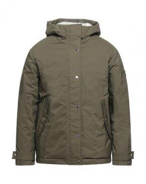 Куртка CIESSE PIUMINI. Цвет: зеленый-милитари