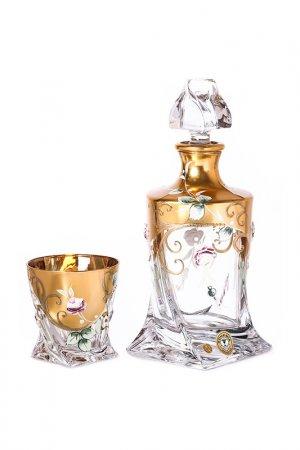 Набор для виски Bohemia. Цвет: золотой, прозрачный
