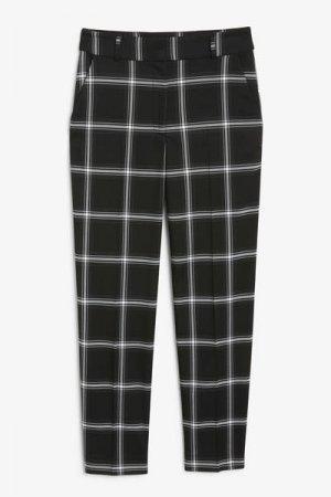 Зауженные брюки Monki. Цвет: черный, разноцветный
