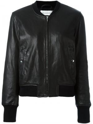 Куртка бомбер Brantley Isabel Marant Étoile. Цвет: чёрный