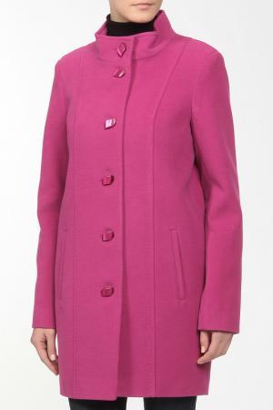 Пальто VIVALDI. Цвет: бордовый