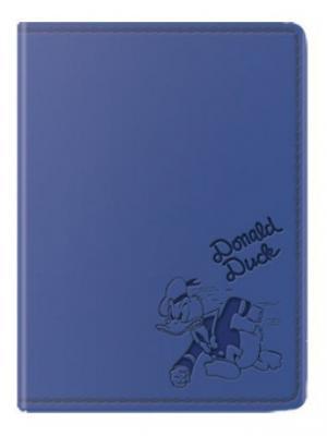Обложка для паспорта Дональд Disney. Цвет: синий