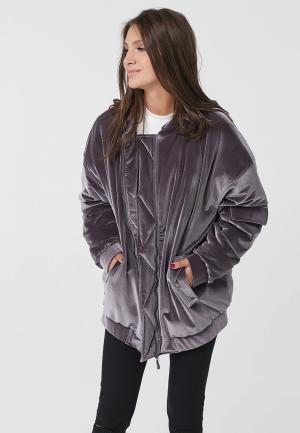 Куртка утепленная Fly. Цвет: серый