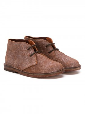 Ботинки дезерты Pèpè. Цвет: коричневый
