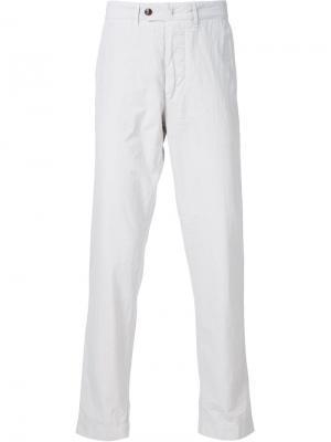 Классические брюки-чинос Officine Generale. Цвет: телесный