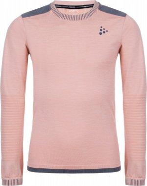 Термобелье верх для девочек Fuseknit Comfort, размер 146-152 Craft. Цвет: розовый