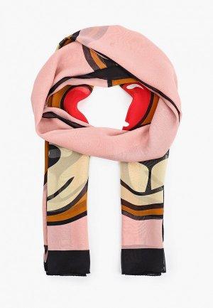 Палантин Moschino. Цвет: разноцветный