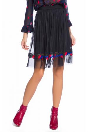 Skirt Pinko. Цвет: blue, red